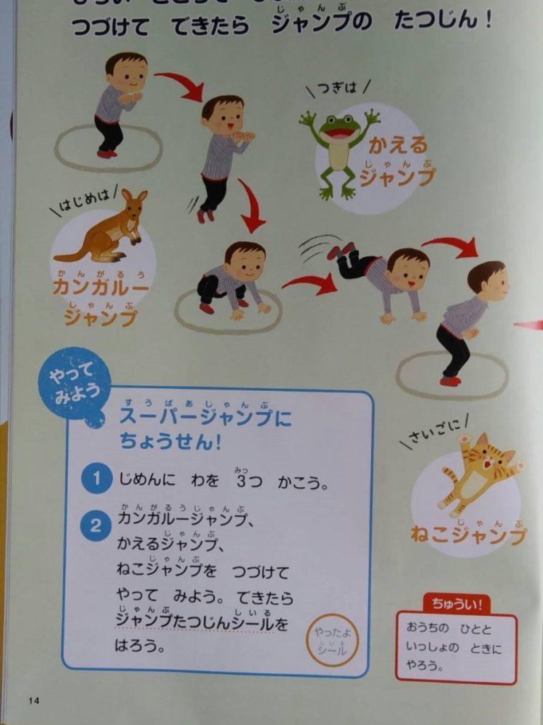 Z会カンガルー・カエル・ネコジャンプ