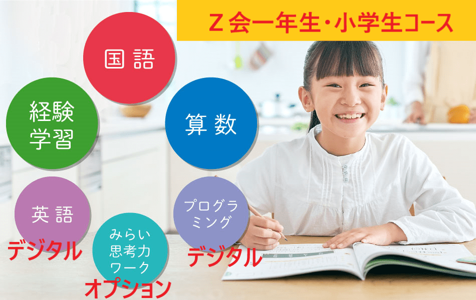 Z会小学一年生.・小学生コース